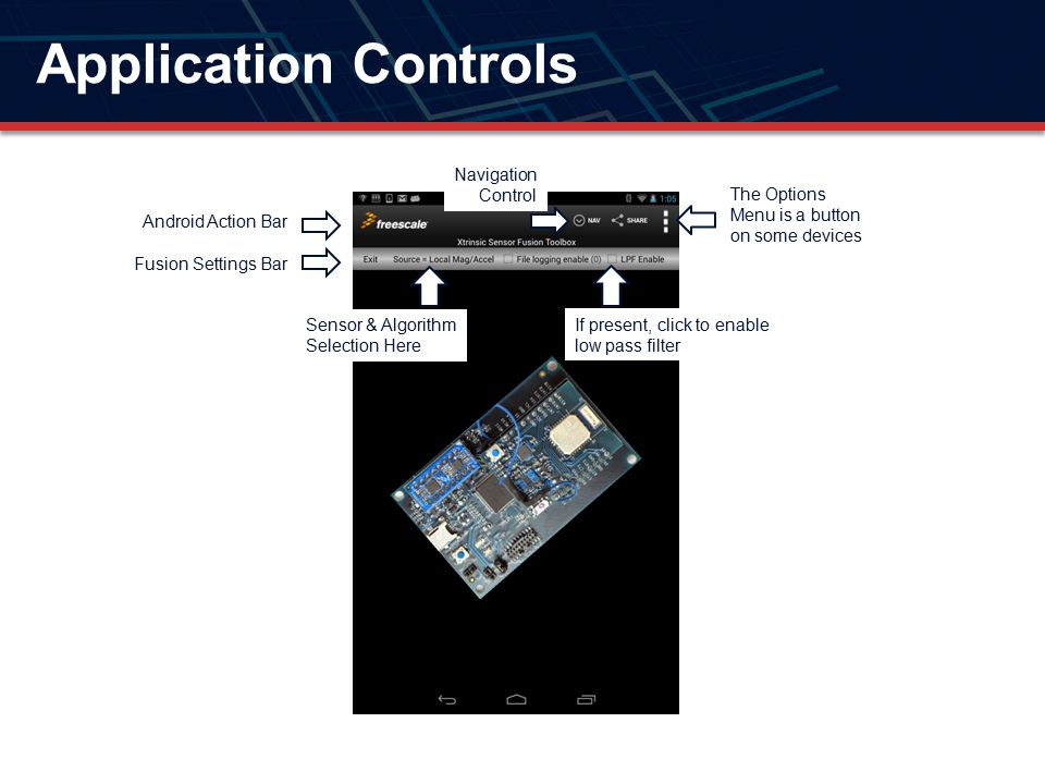 Application Controls Navigation Control
