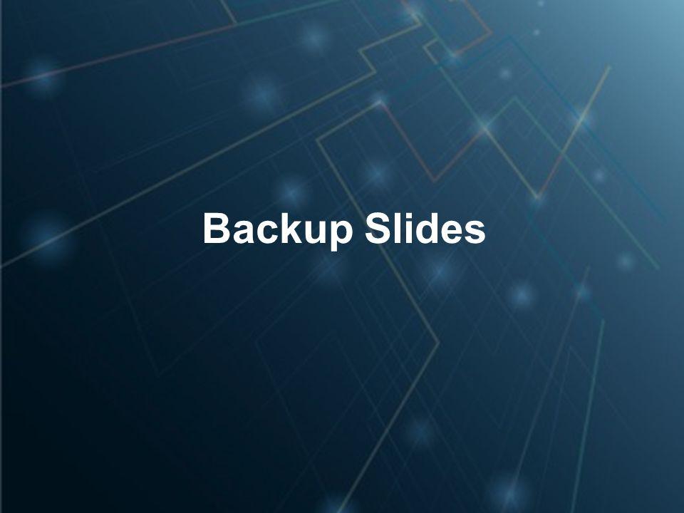 4/14/2017 Backup Slides
