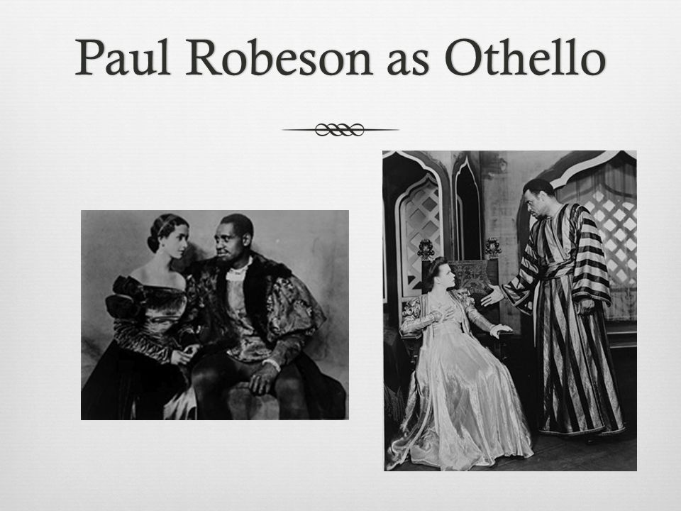 Paul Robeson as Othello