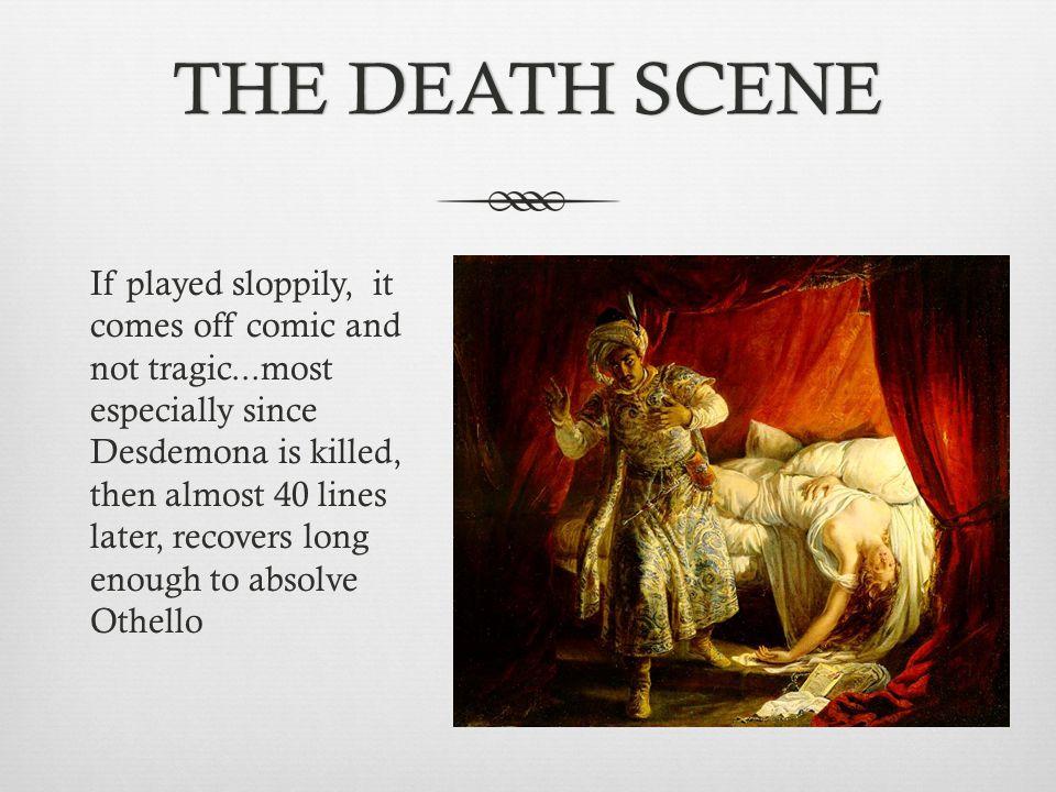 THE DEATH SCENE