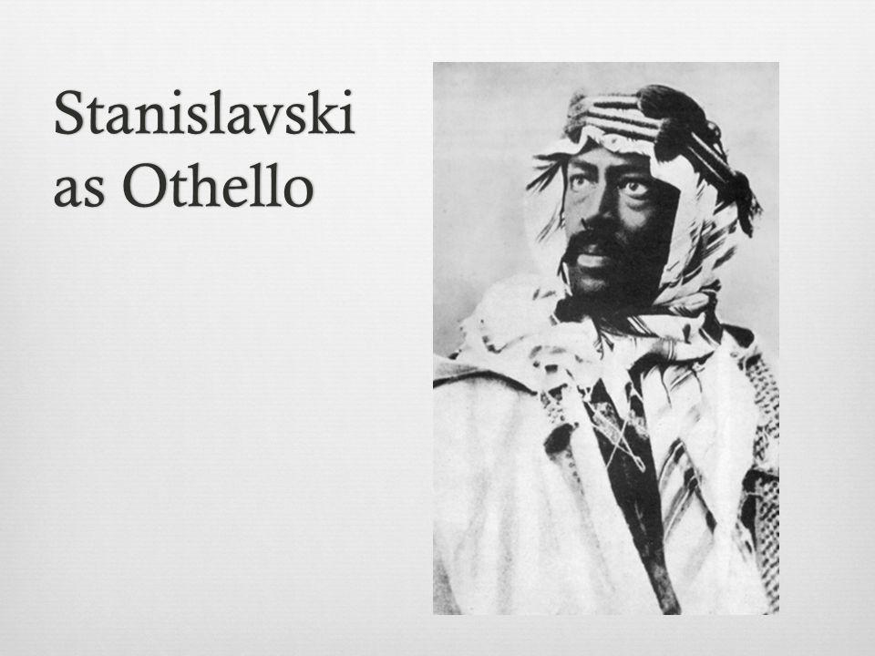 Stanislavski as Othello