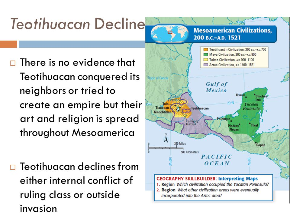 Teotihuacan Decline