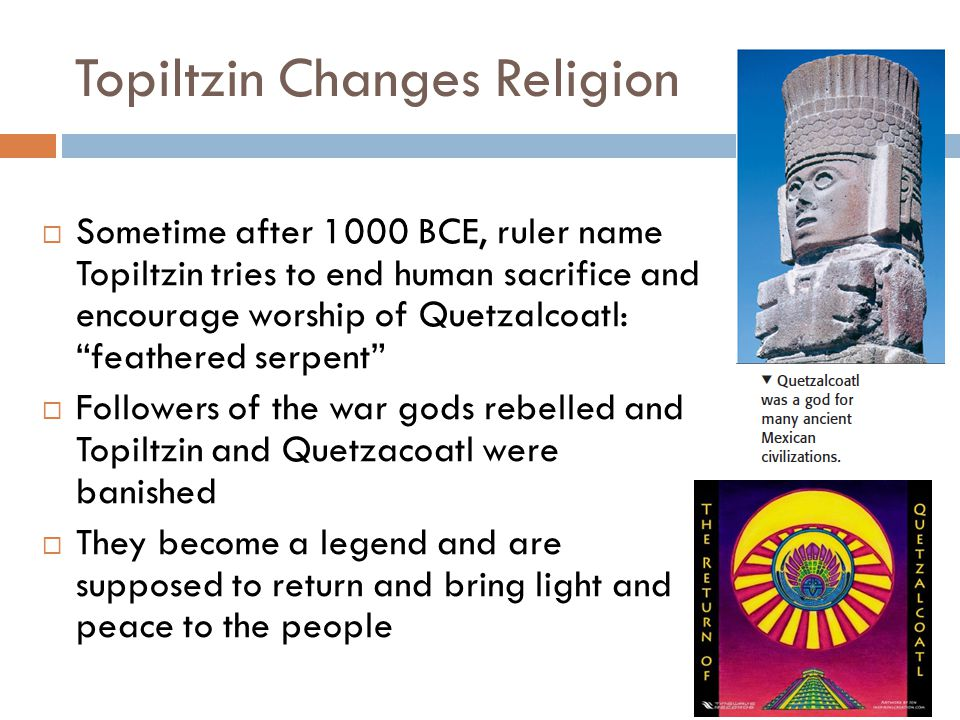 Topiltzin Changes Religion