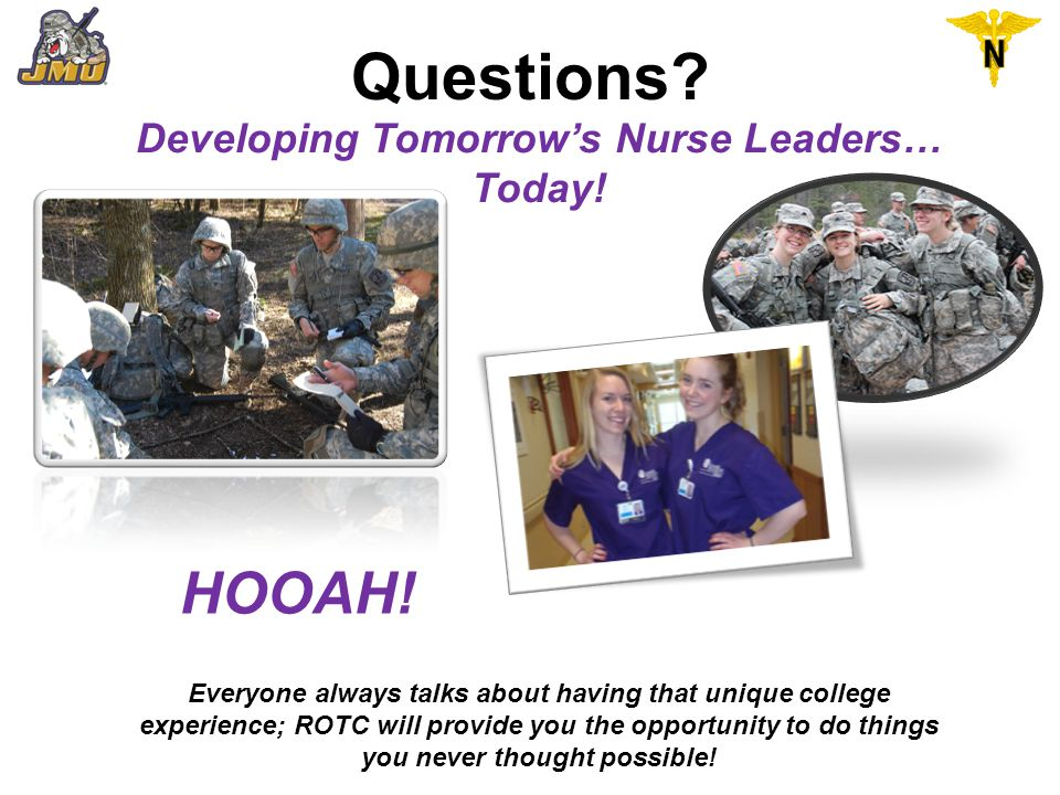Developing Tomorrow's Nurse Leaders… Today!