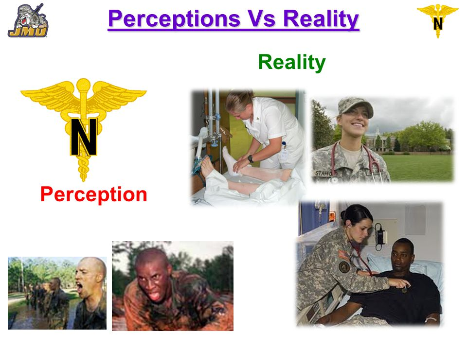 Perceptions Vs Reality