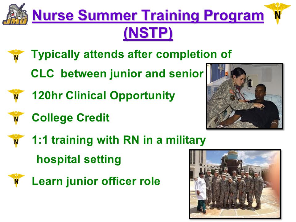 Nurse Summer Training Program (NSTP)