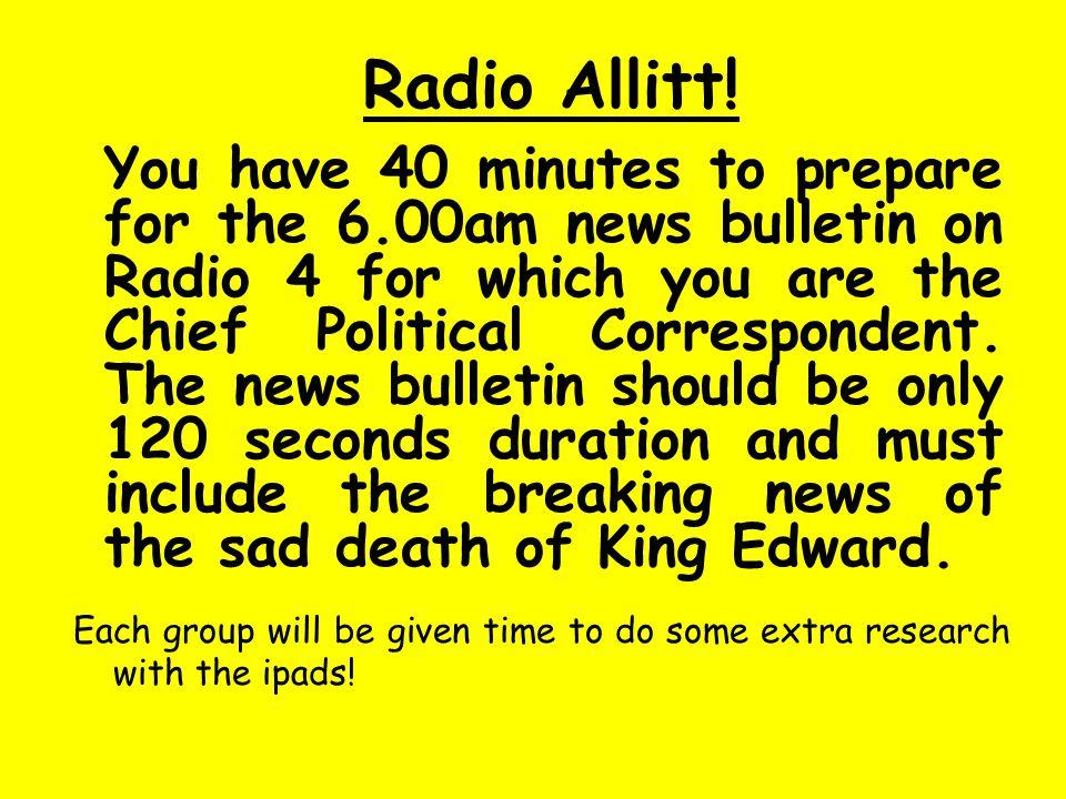 Radio Allitt!