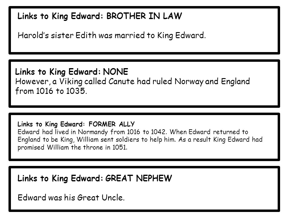 Links to King Edward: BROTHER IN LAW