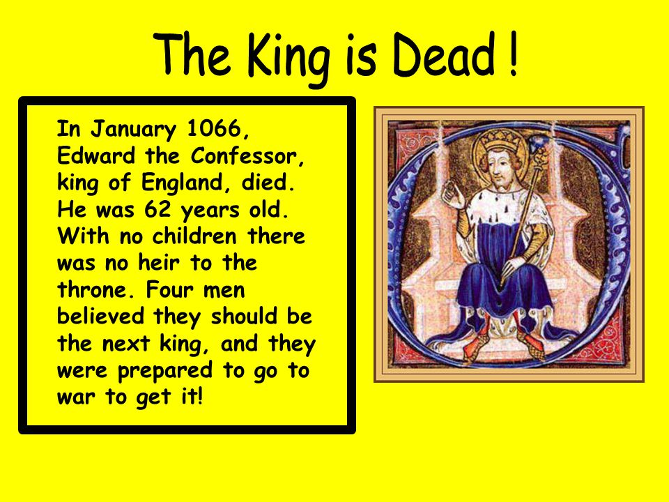 The King is Dead !