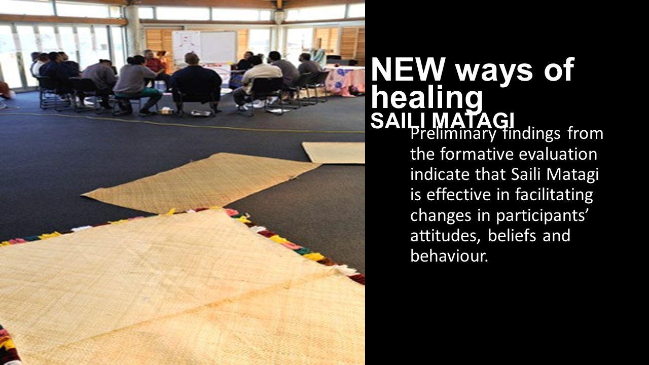 NEW ways of healing SAILI MATAGI