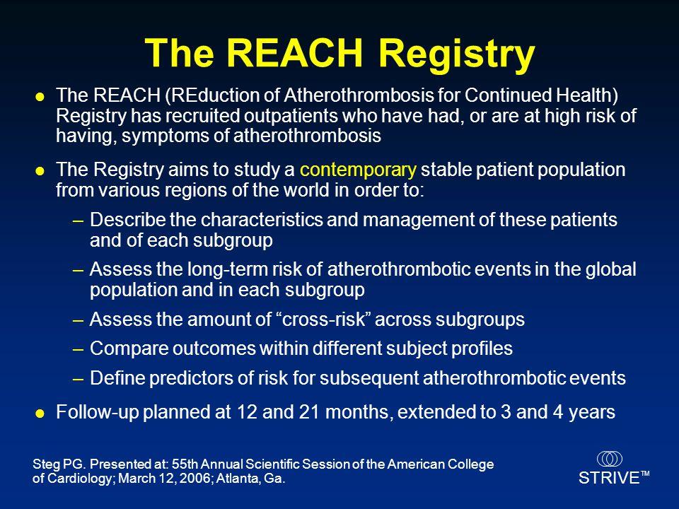 The REACH Registry