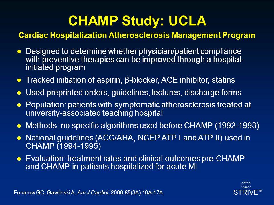 Cardiac Hospitalization Atherosclerosis Management Program