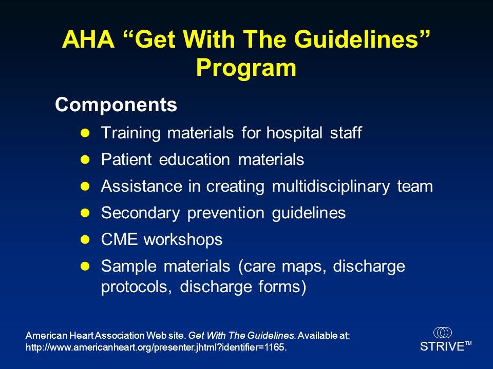 AHA Get With The Guidelines Program