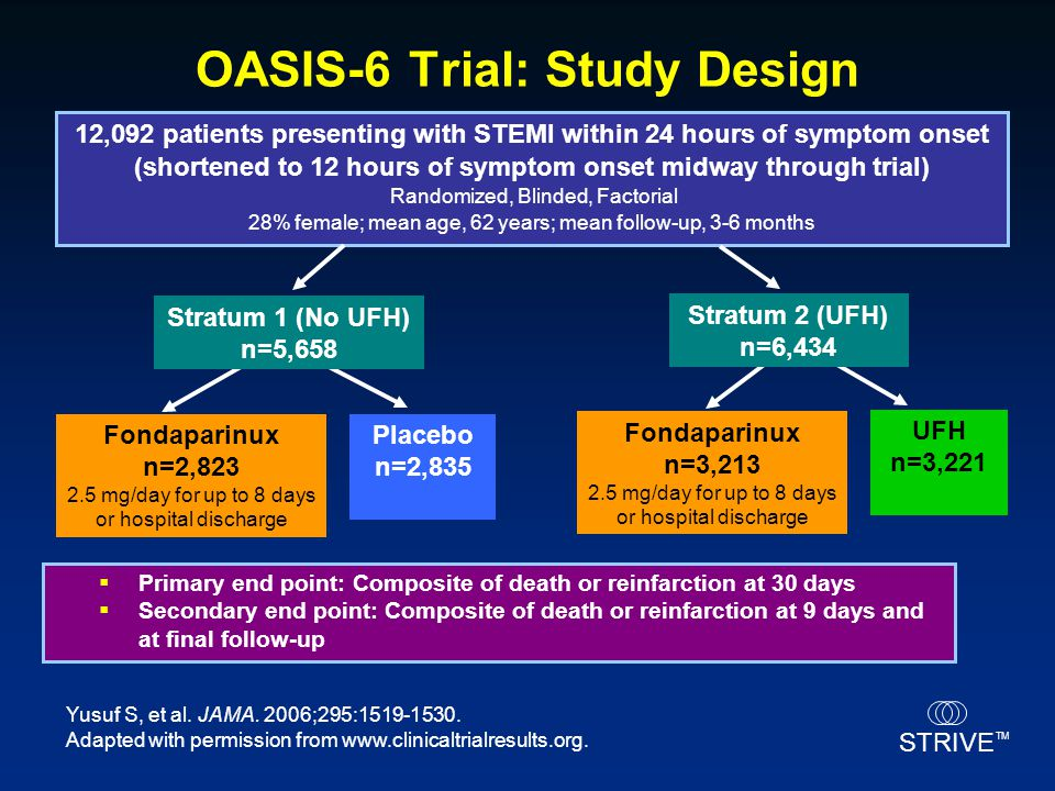 OASIS-6 Trial: Study Design