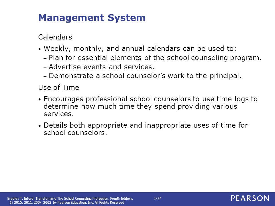 Management System Calendars