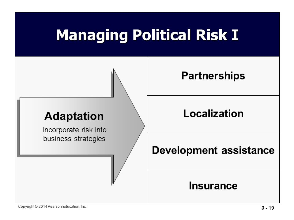 Managing Political Risk I