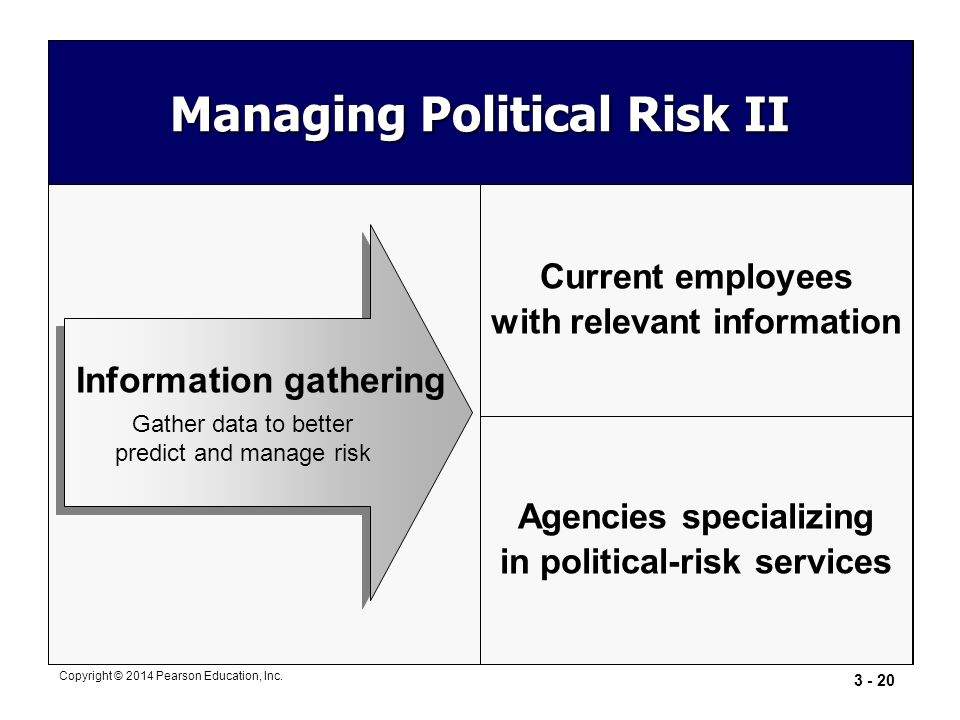 Managing Political Risk II