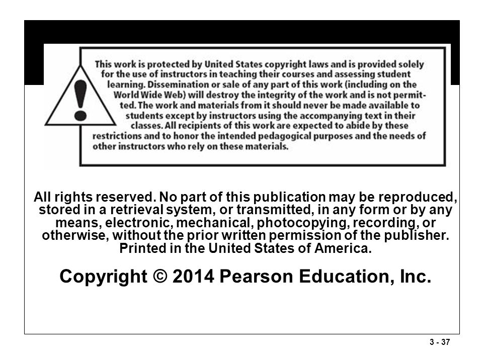 Copyright © 2014 Pearson Education, Inc.