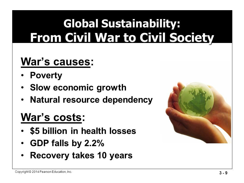 Global Sustainability: From Civil War to Civil Society