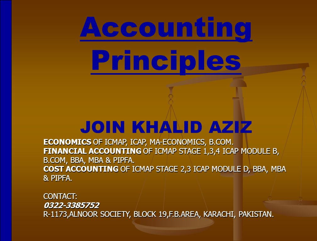 principles of accounting 1 Accounting: principles of financial accounting from iese business school financial accounting is often called the language of business it is the language that managers use to communicate.