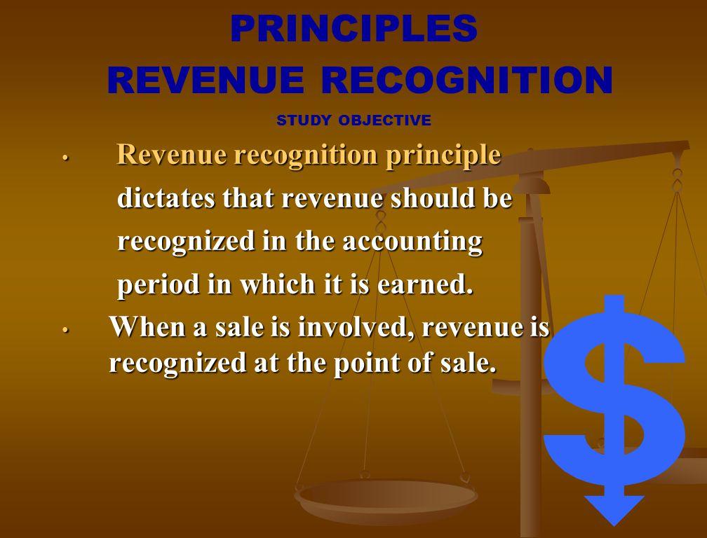 PRINCIPLES REVENUE RECOGNITION