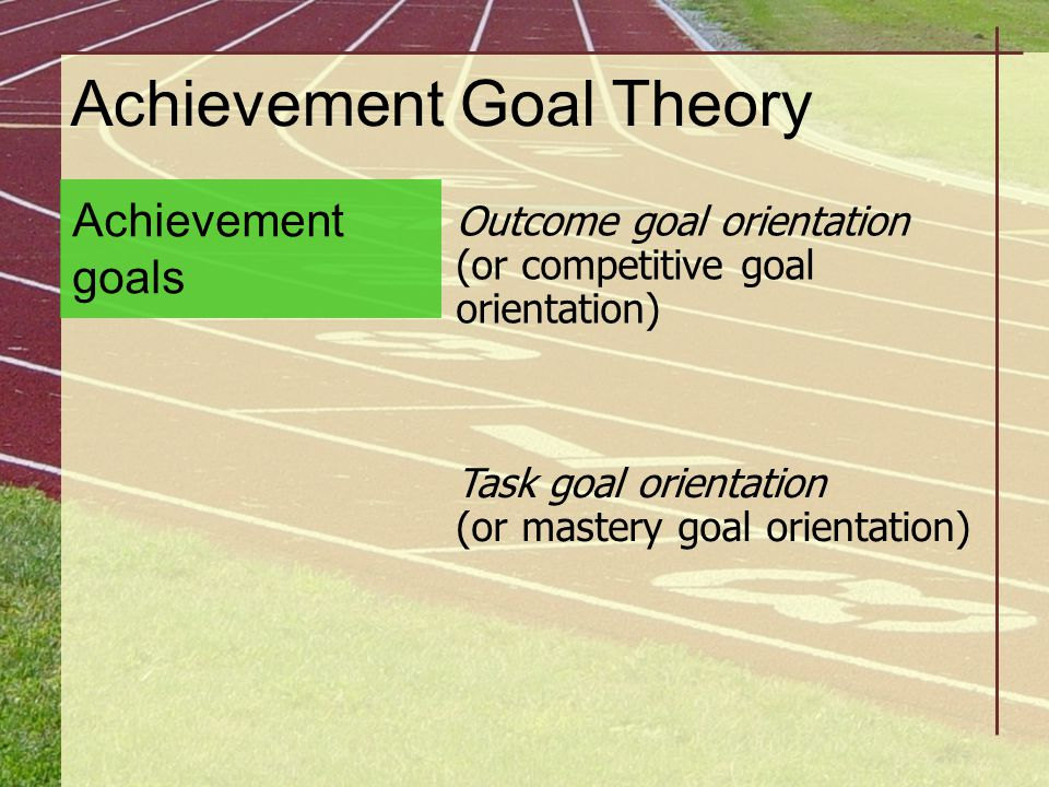 Achievement Goal Theory