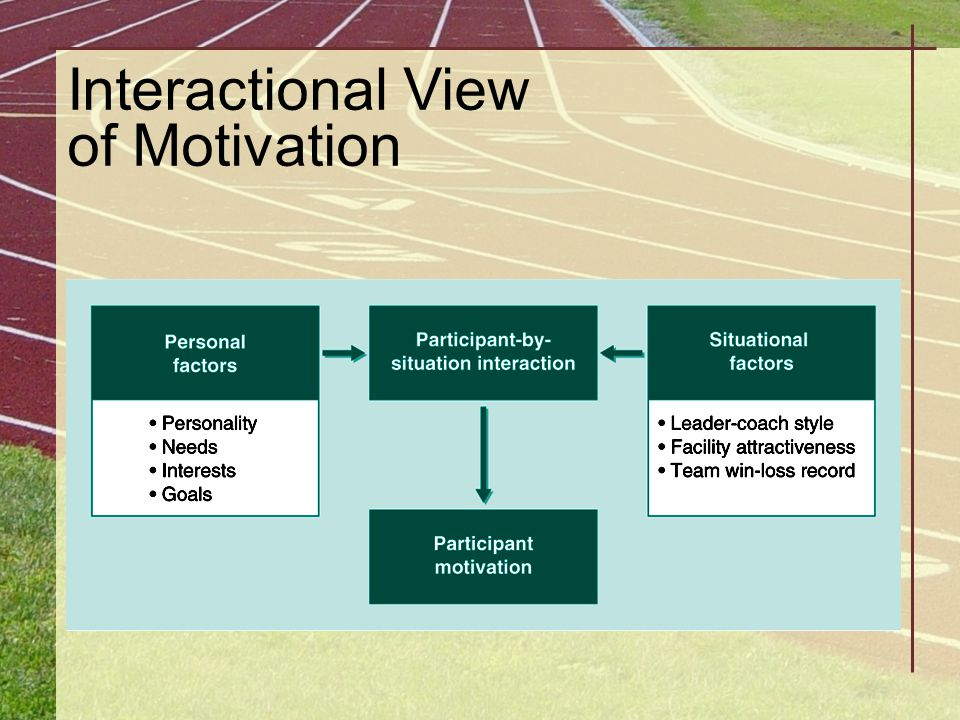 Interactional View of Motivation