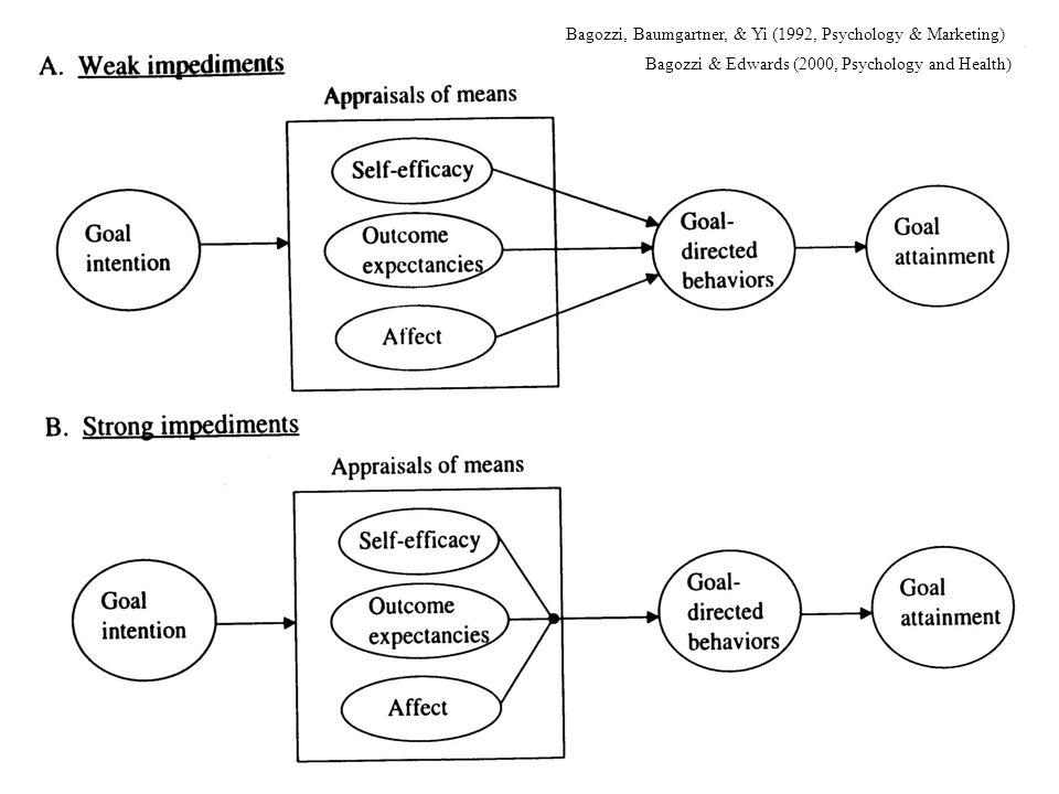 Bagozzi, Baumgartner, & Yi (1992, Psychology & Marketing)