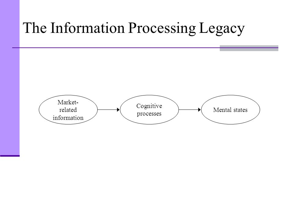 The Information Processing Legacy