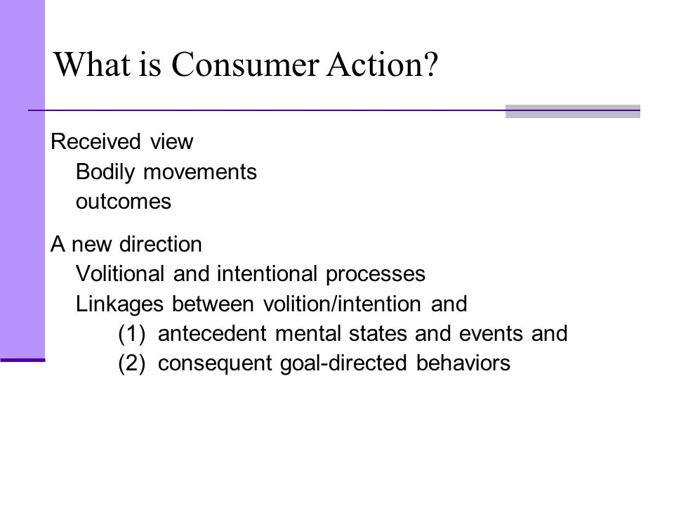 What is Consumer Action