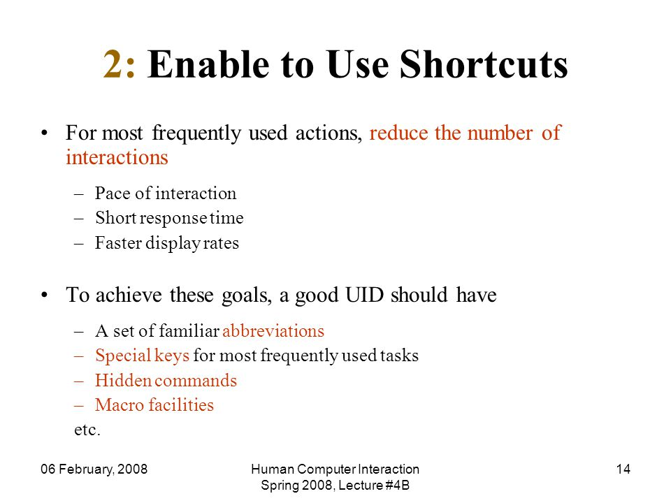 2: Enable to Use Shortcuts