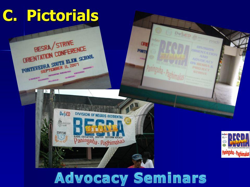 C. Pictorials Advocacy Seminars