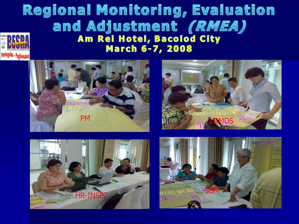Regional Monitoring, Evaluation Am Rei Hotel, Bacolod City