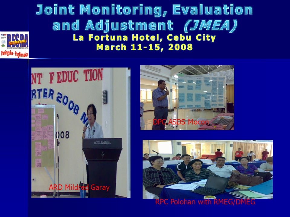 Joint Monitoring, Evaluation La Fortuna Hotel, Cebu City