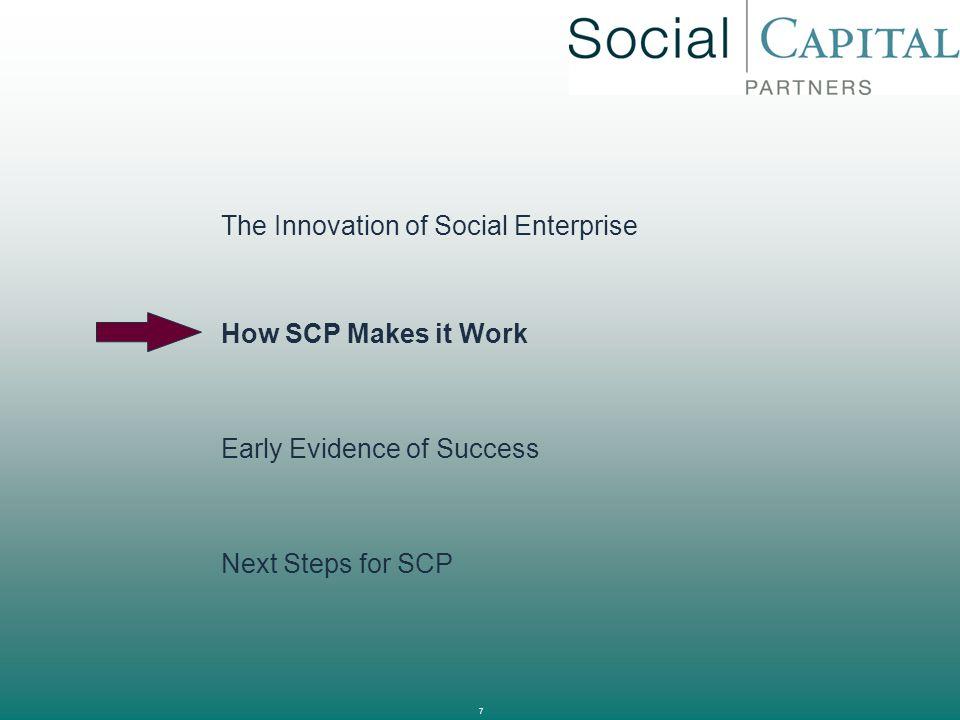 The Innovation of Social Enterprise