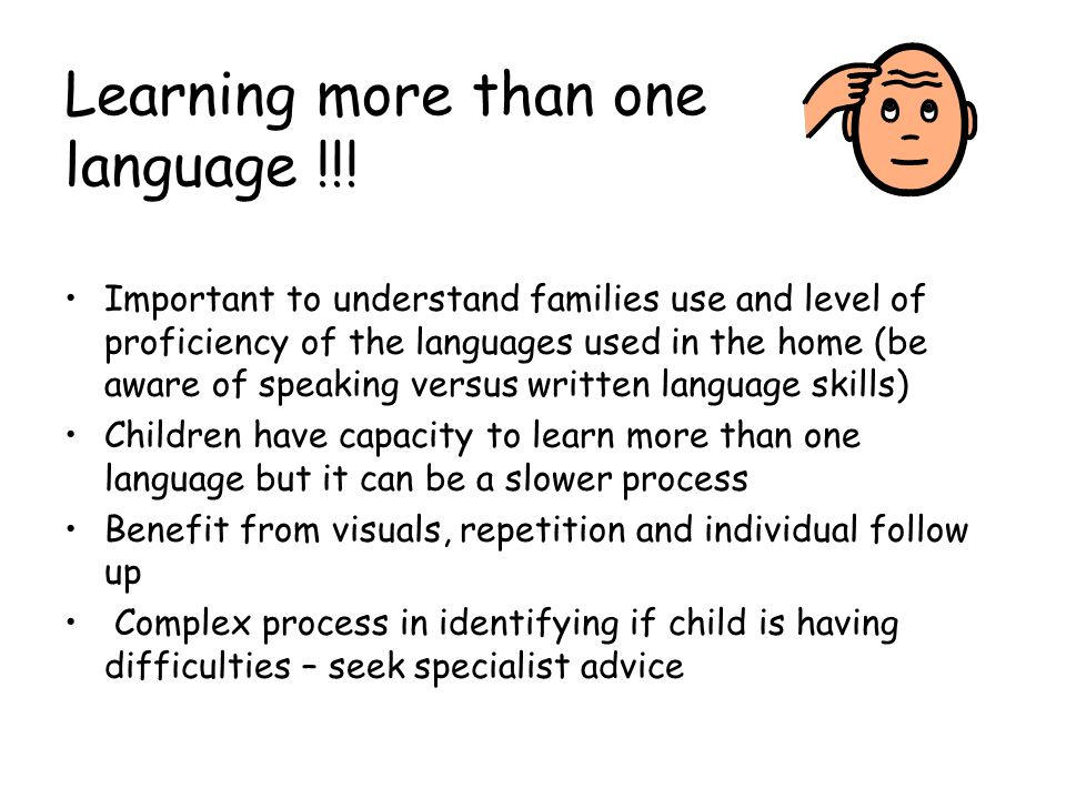Learning more than one language !!!