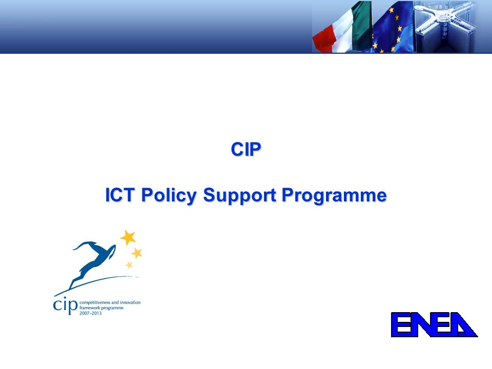 ICT Policy Support Programme