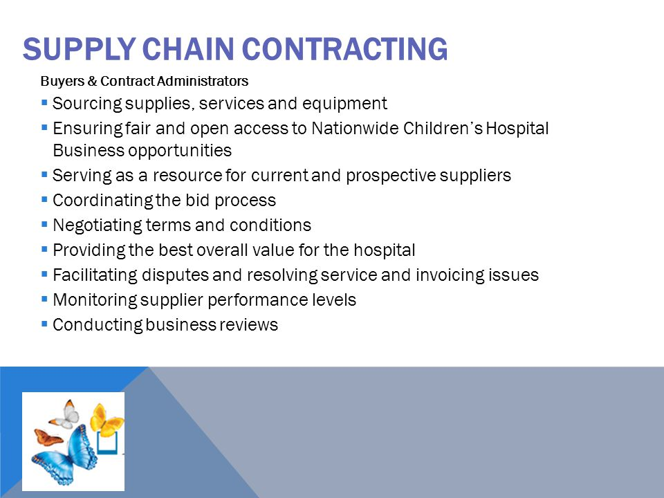 Supply Chain Contracting