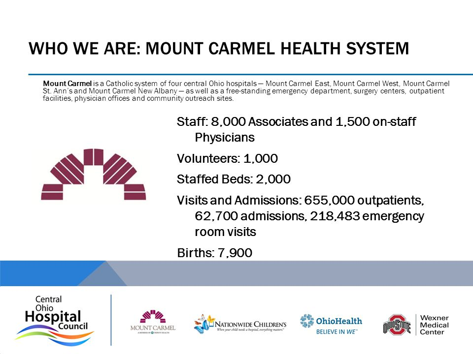 Who we are: mount carmel health system