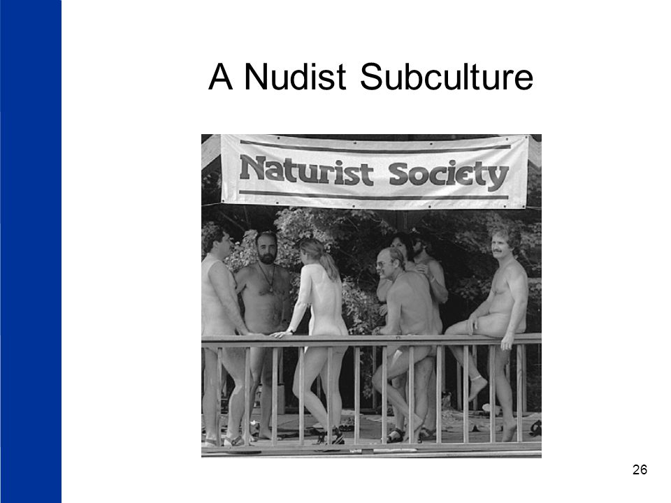 A Nudist Subculture
