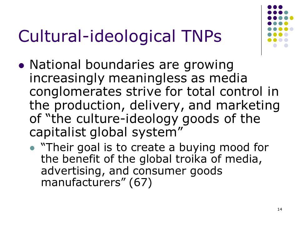 Cultural-ideological TNPs