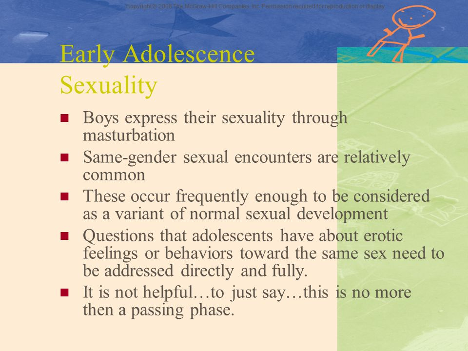 Early Adolescence Sexuality
