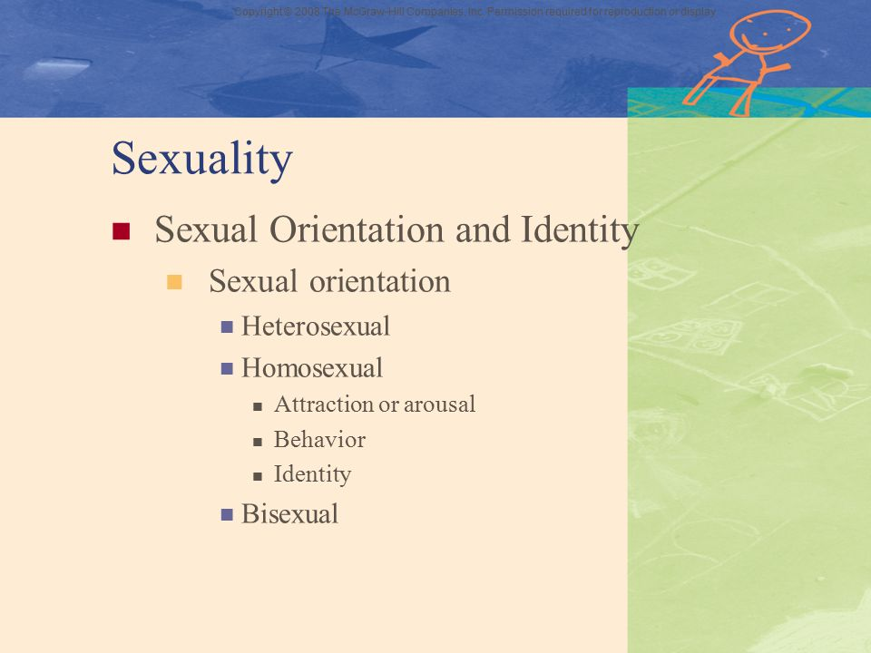 Sexuality Sexual Orientation and Identity Sexual orientation