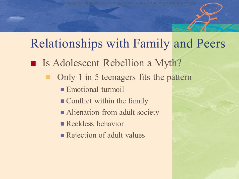 Relationships with Family and Peers