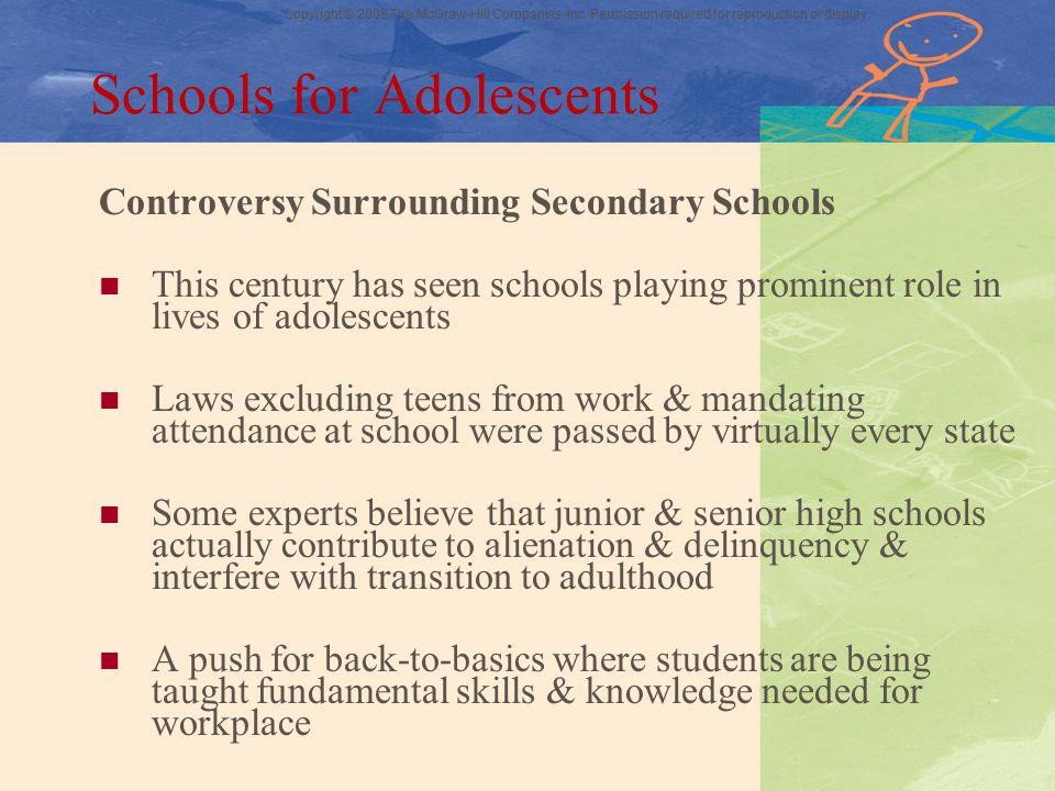 Schools for Adolescents