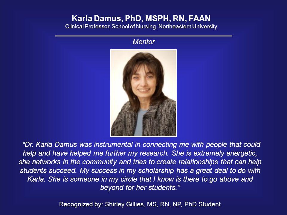 Karla Damus, PhD, MSPH, RN, FAAN