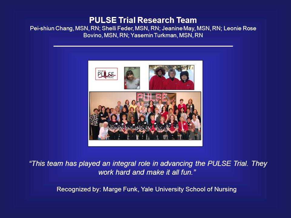 PULSE Trial Research Team
