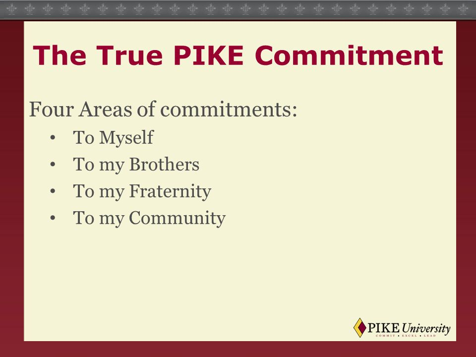 The True PIKE Commitment