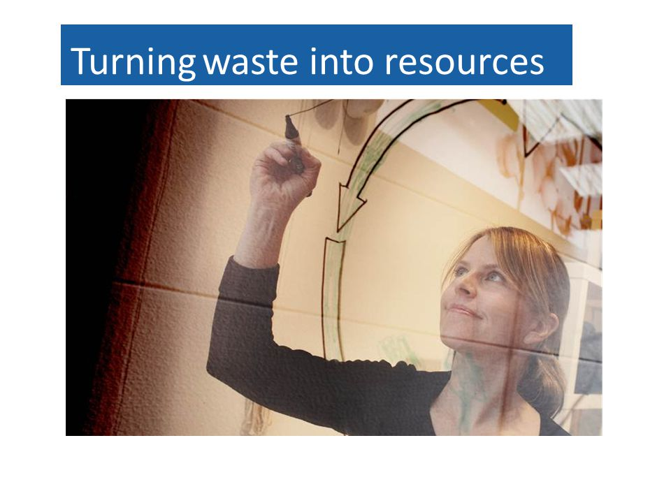 Turning waste into resources