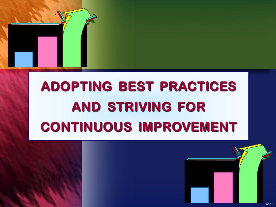 ADOPTING BEST PRACTICES AND STRIVING FOR CONTINUOUS IMPROVEMENT